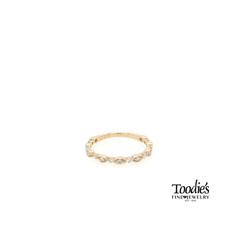 Toodie's Signature Fashion Diamond Stackable Band