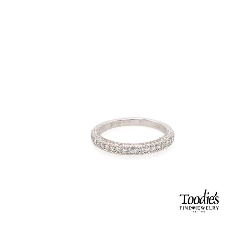 Toodie's Signature Fashion Beaded Straight Diamond Band