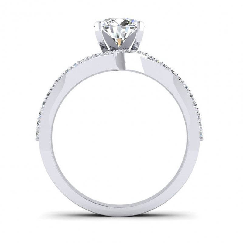 Toodie's Bridal Vintage Halo Inspired Engagement Ring