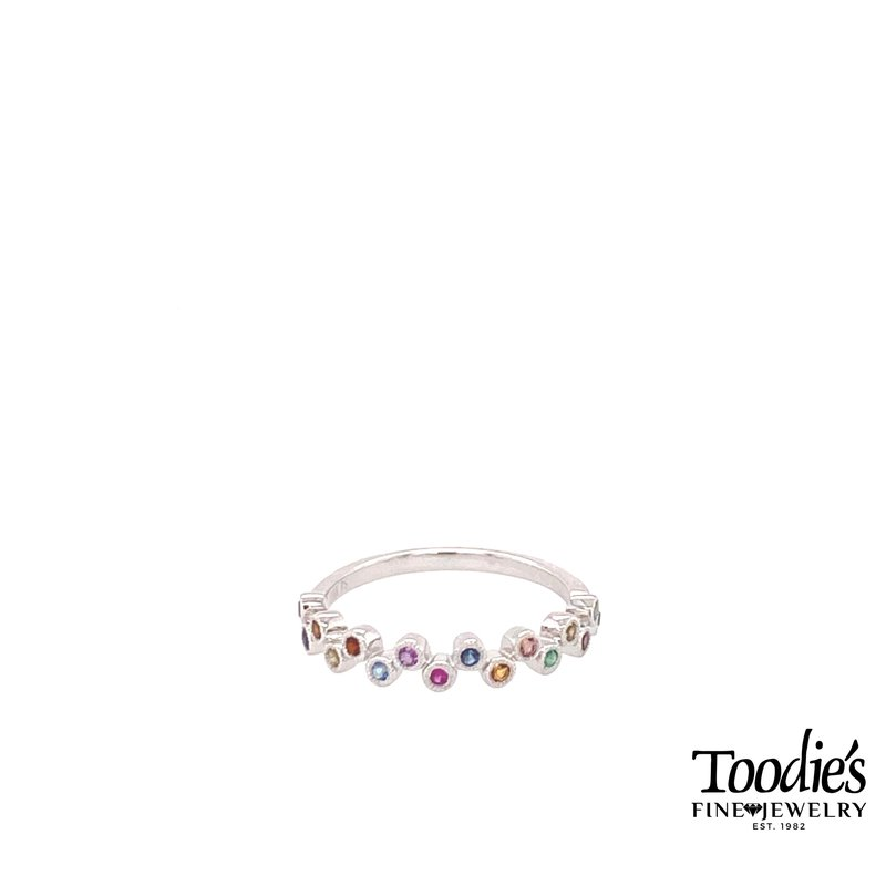 Toodie's Signature Fashion Multi Colored Gemstone Ring