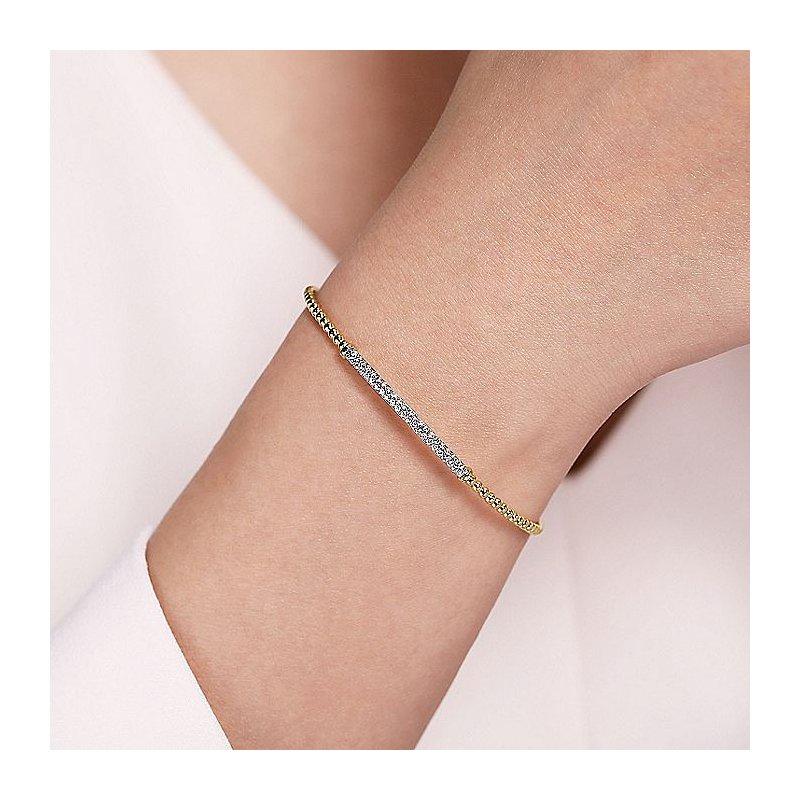 Gabriel Fashion Diamond Bar Style Bracelet