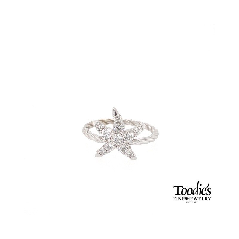 Toodie's Signature Fashion Toodies Signature Diamond Starfish Ring