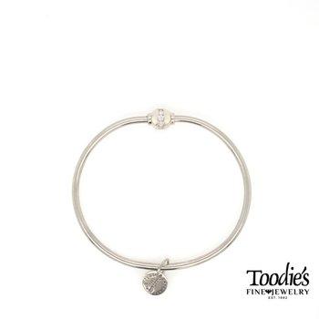 Cape Cod Cubic Zirconia Ball Bracelet