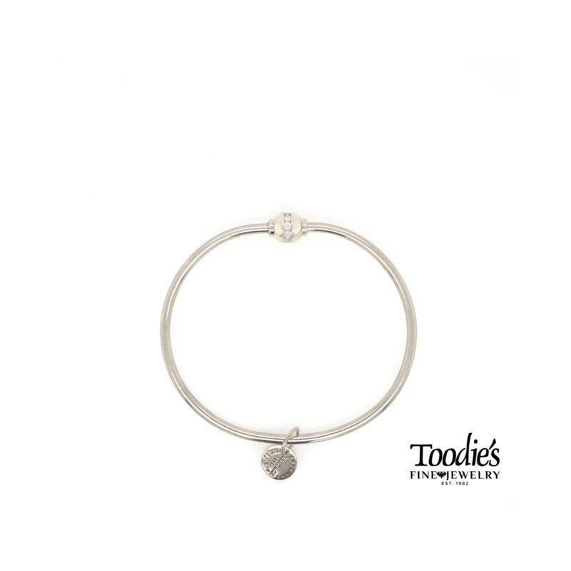 Cape Cod Jewelry by Lestage Cape Cod Cubic Zirconia Ball Bracelet