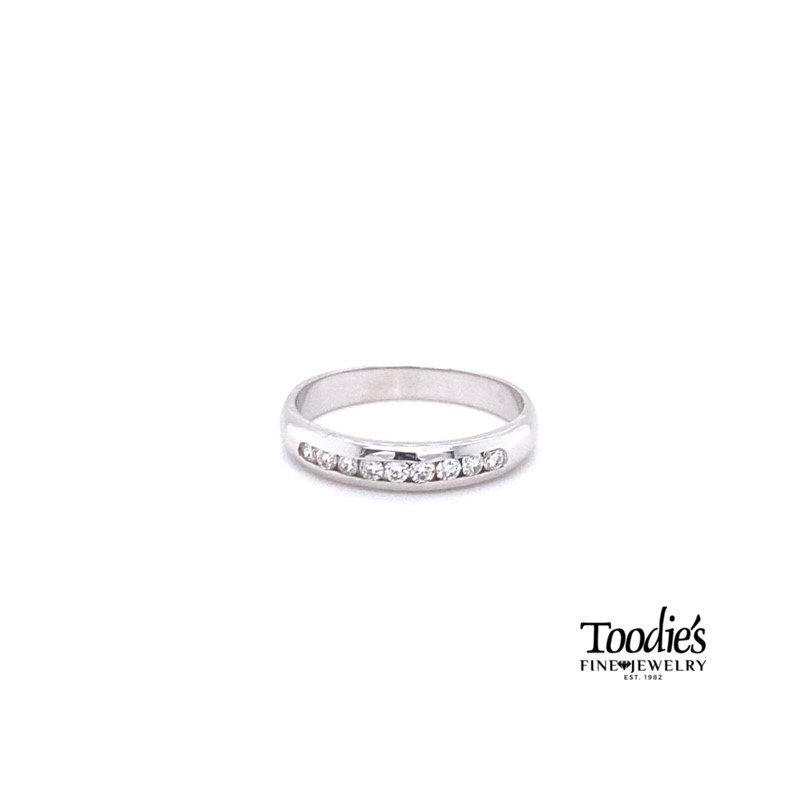Toodie's Signature Fashion Channel Set Diamond Band