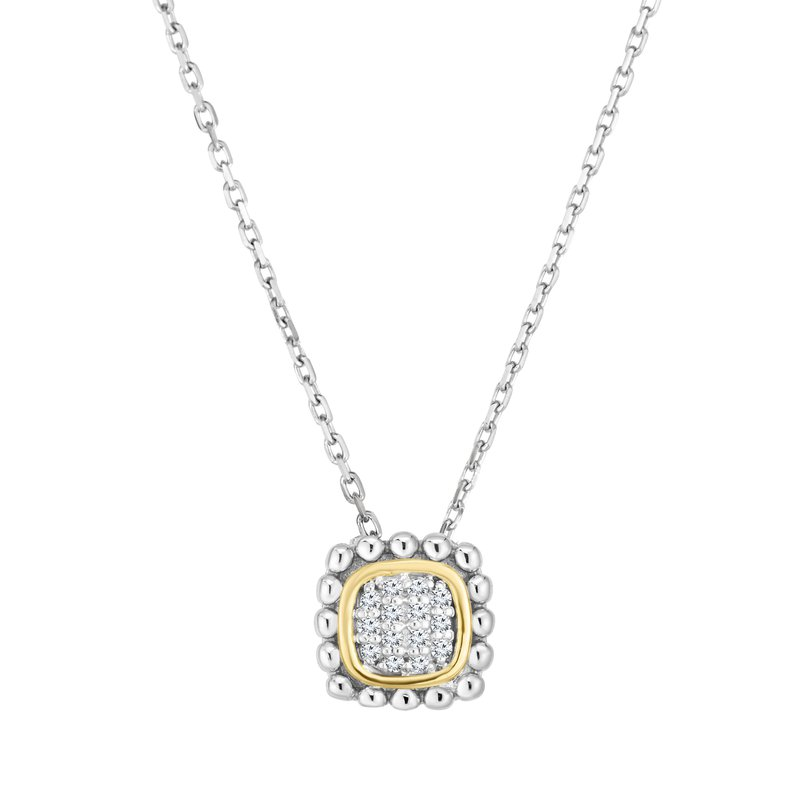 Phillip Gavriel Diamond Pendant Necklace