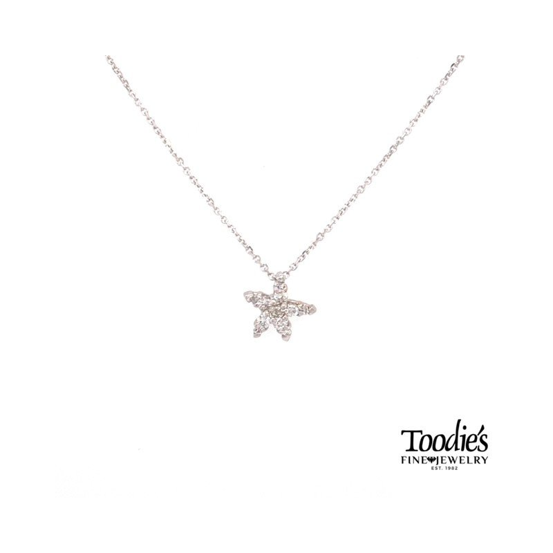 Diamond Starfish Collection Starfish Pendant