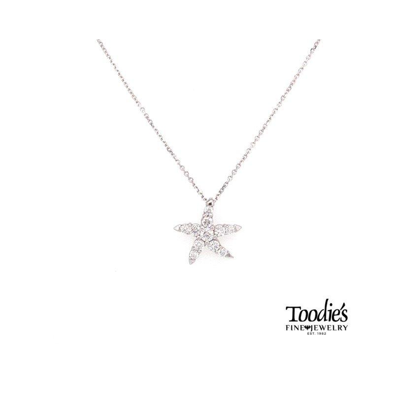 Diamond Starfish Collection Starfish Pendant