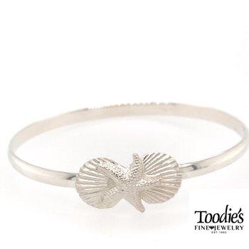 Shell And Starfish Bracelet