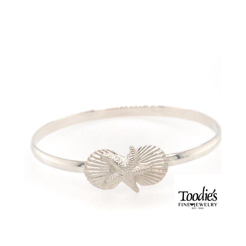 Toodie's Signature Fashion Shell And Starfish Bracelet