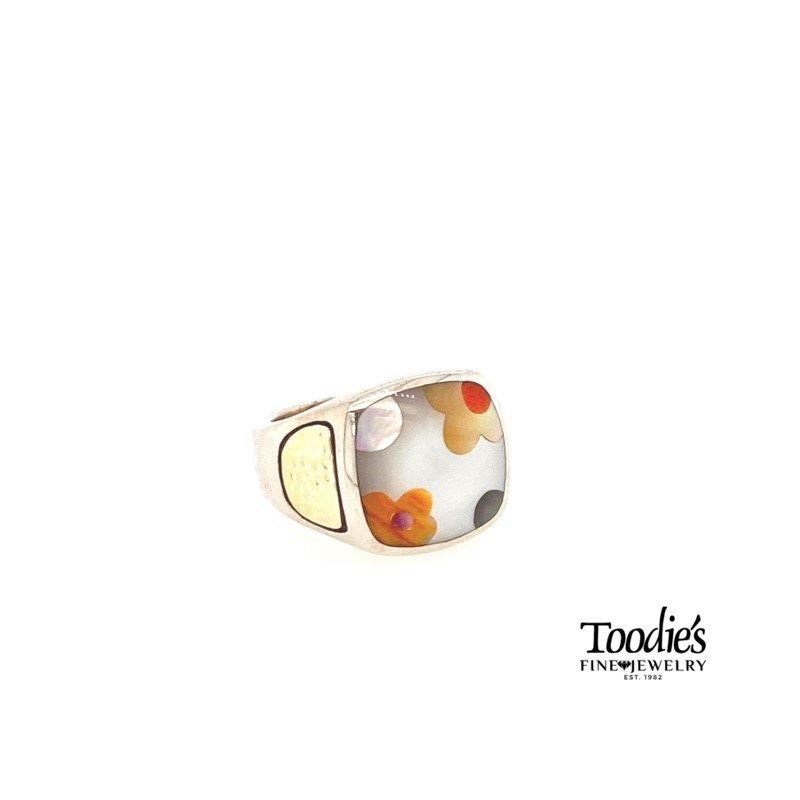 Asch Grossbardt Designs Flower Style Ring