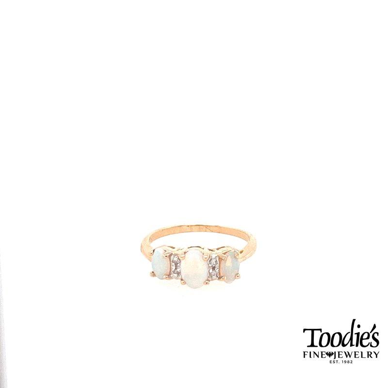 Toodie's Signature Fashion Vintage Tri-Opal Ring