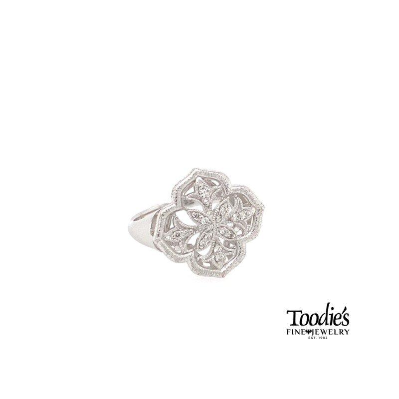 Gabriel Fashion Clover Shaped Ring