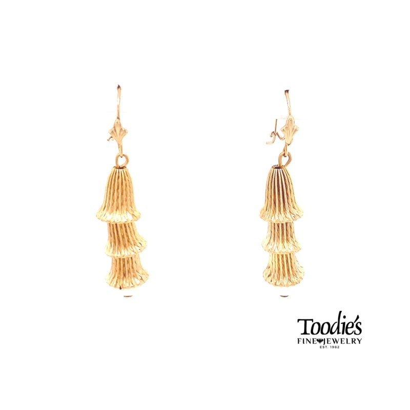 Toodie's Signature Fashion Vintage Chandelier Pearl Drop Earrings