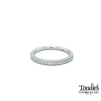 Classic Platinum Diamond Band