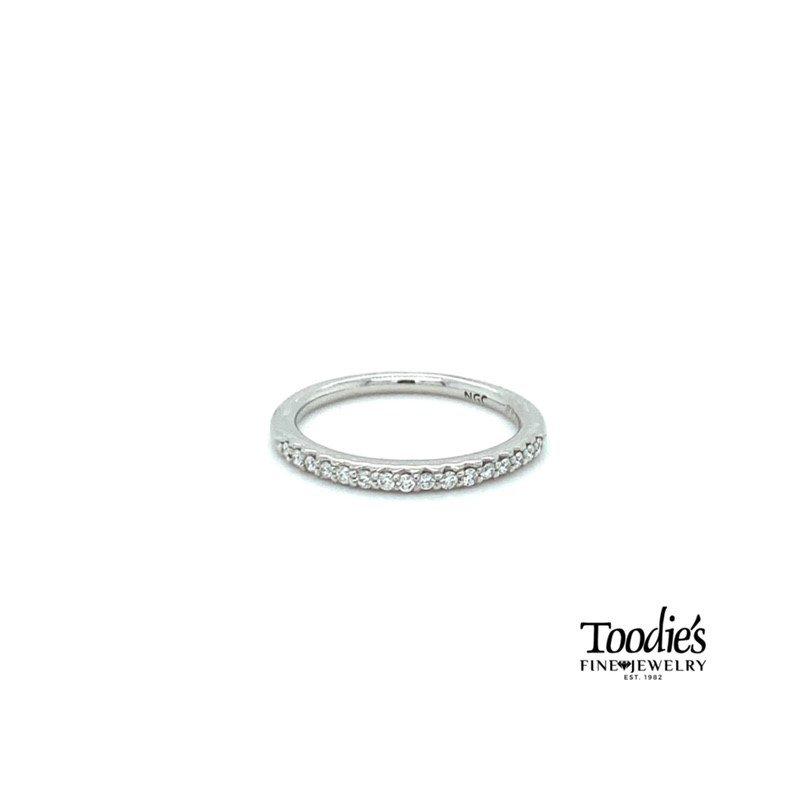 Toodie's Signature Fashion Classic Platinum Diamond Band