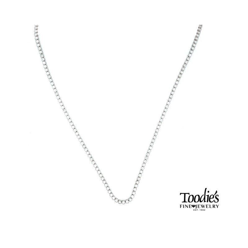 Toodie's Signature Fashion Diamond Tennis Necklace Choker