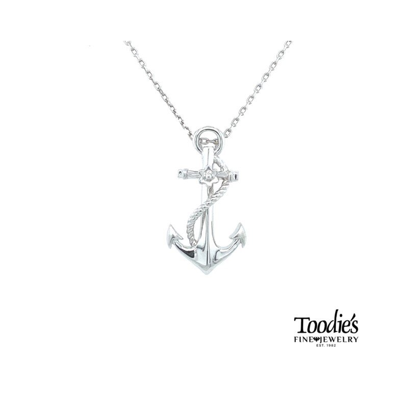 Penny James Jewelry Anchor Necklace