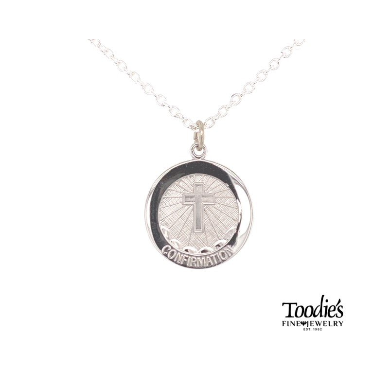 Toodie's Signature Fashion Confirmation Medallion Necklace