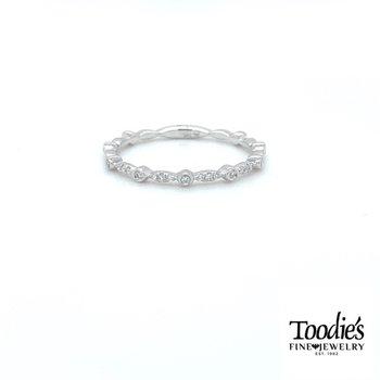 Delicate Diamond Stackable