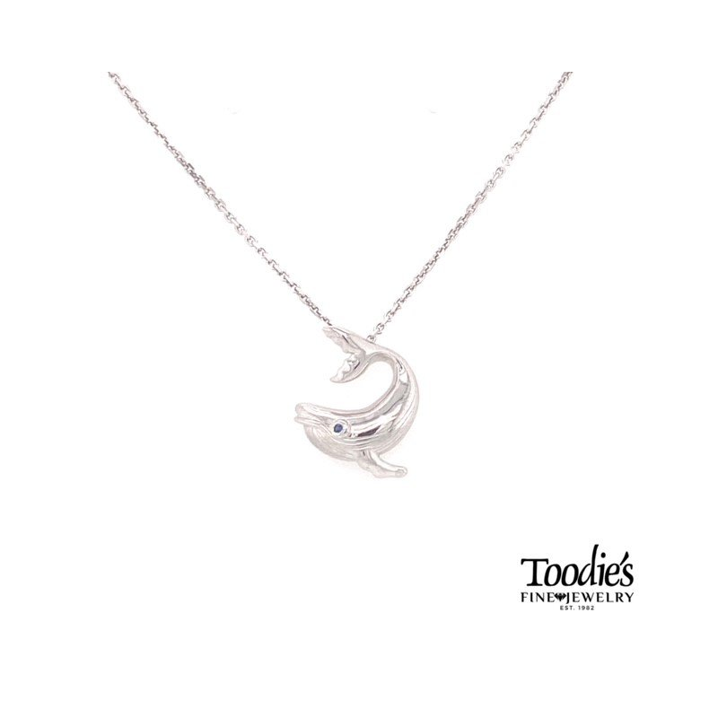 Penny James Jewelry Whale Pendant Necklace