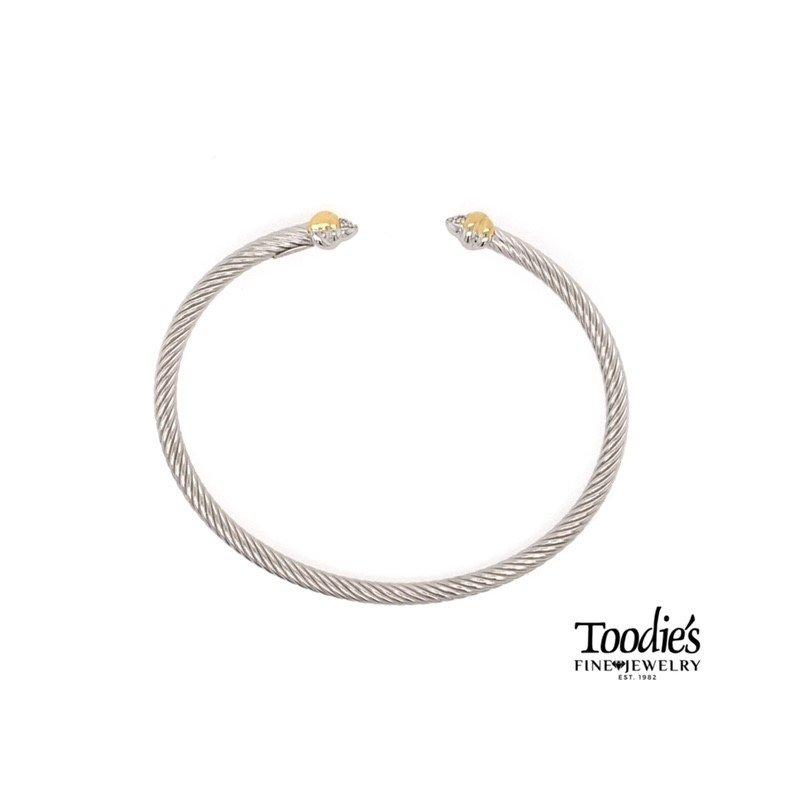 Phillip Gavriel Abbraccia Style Cuff Bracelet