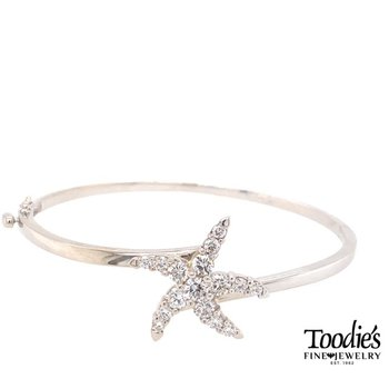 Diamond Starfish Bracelet