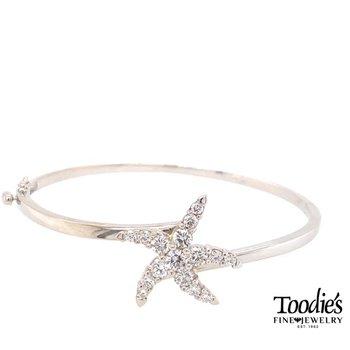 Diamond Starfish Bracelet