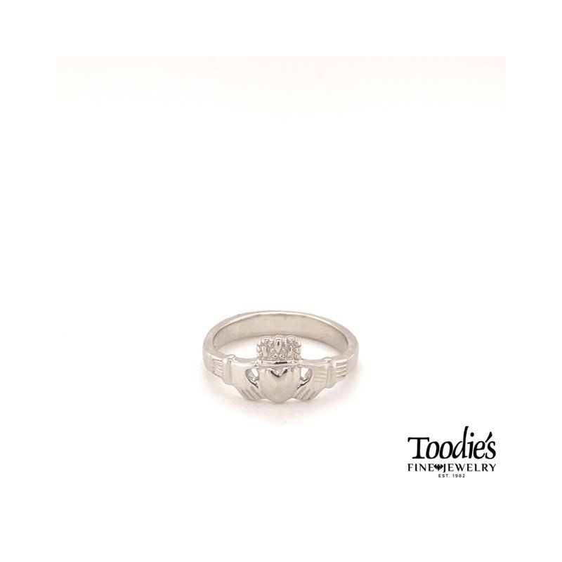 Toodie's Signature Fashion Silver Claddaugh Ring