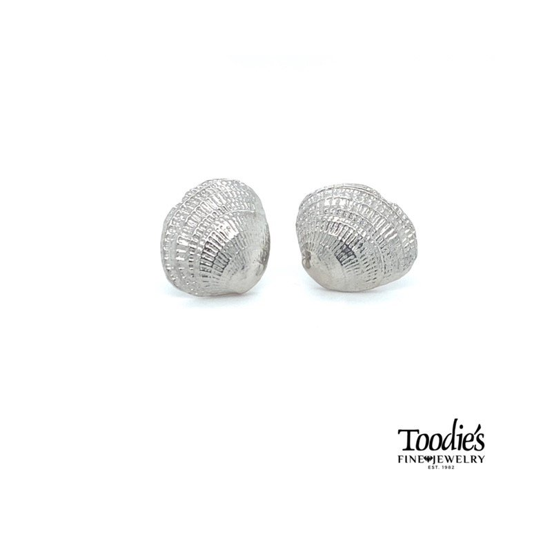 Toodie's Signature Fashion Clam Shell Earrings