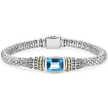 Gemstone Caviar Bracelet