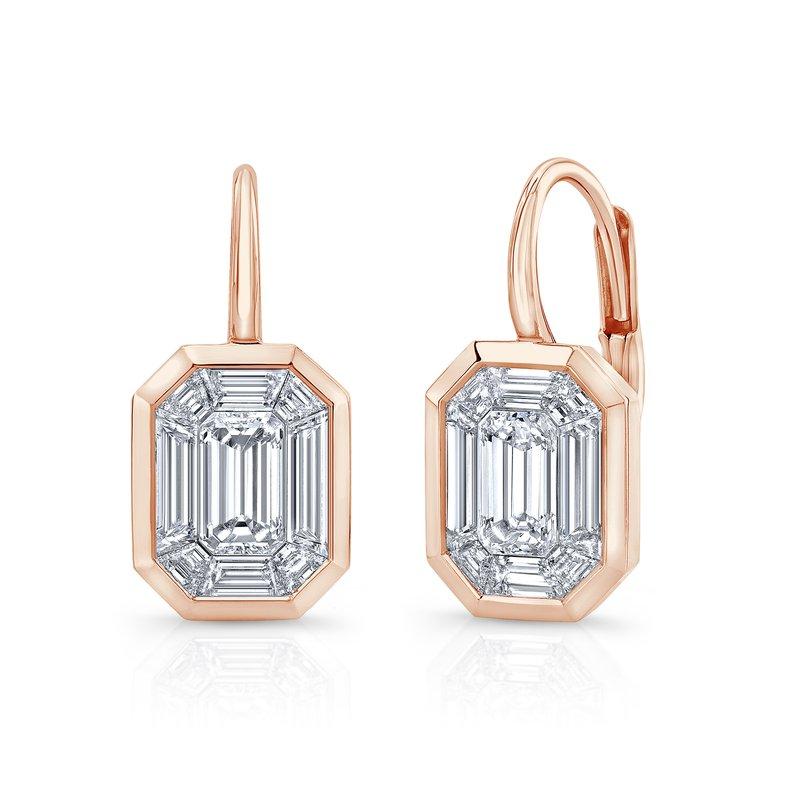 Rahaminov 18k Rose Gold Kaleido Earrings