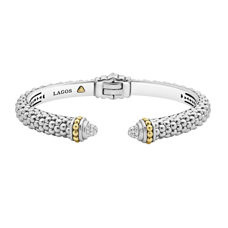 LAGOS Diamond Cuff Bracelet