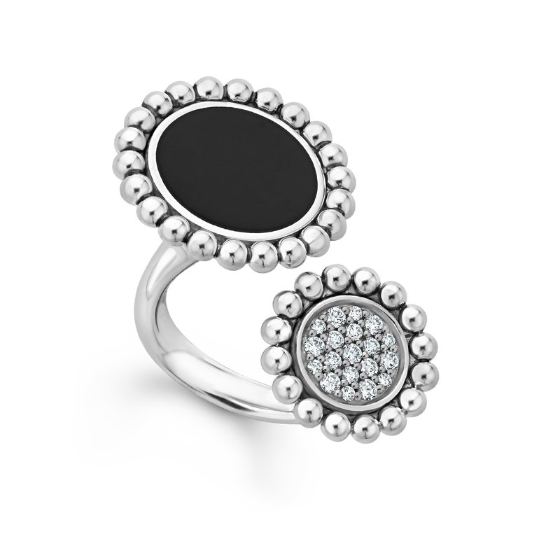 LAGOS Double Statement Ring