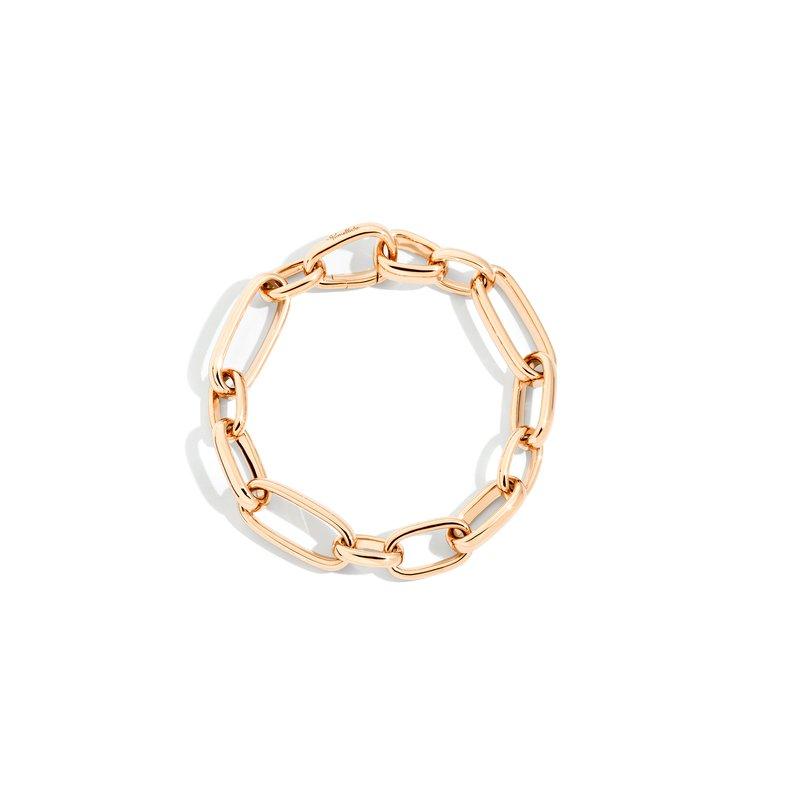 Pomellato Iconica 18k rose gold link bracelet