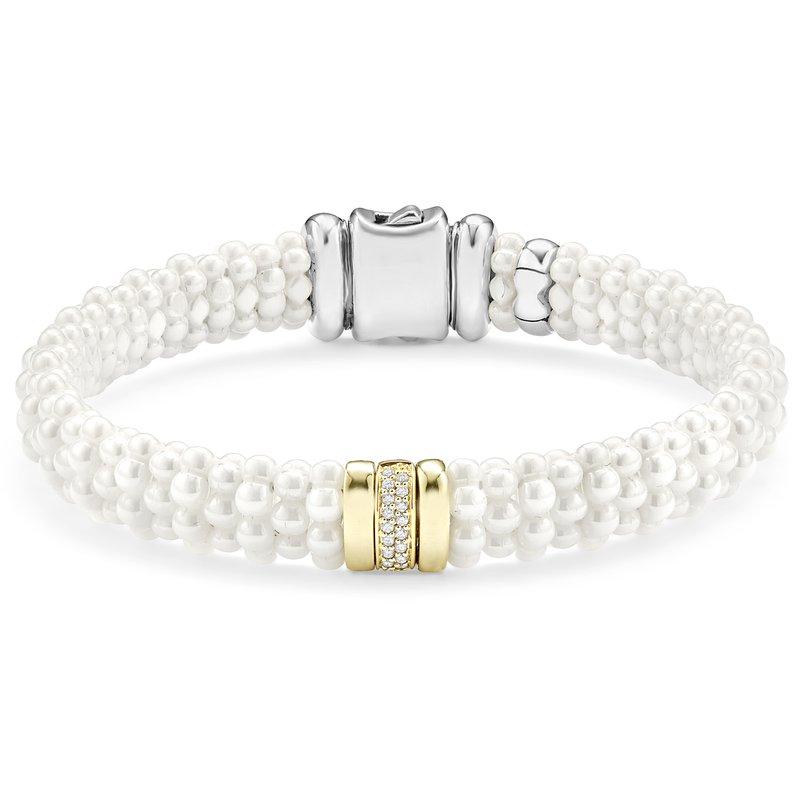 LAGOS Diamond Beaded Bracelet