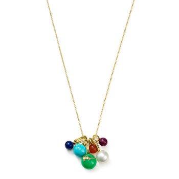 18k Nova Cluster Necklace
