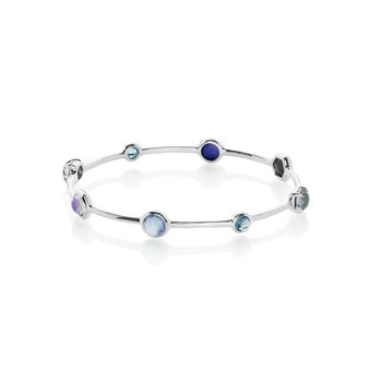 Rock Candy Mixed Stone Bangle