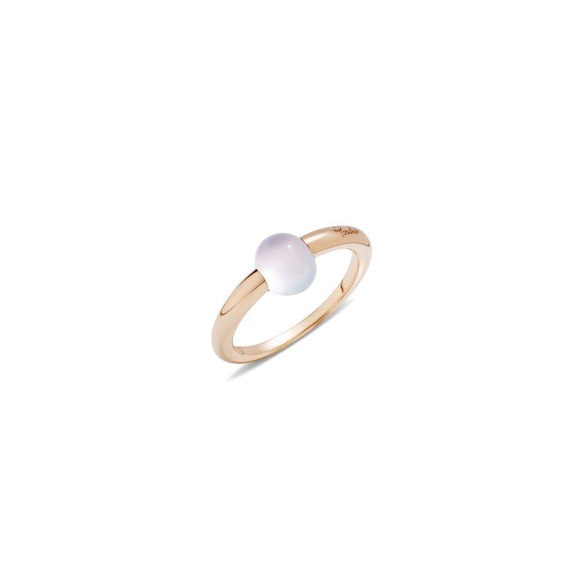 Pomellato M'ama non m'ama 18k rose gold moonstone ring