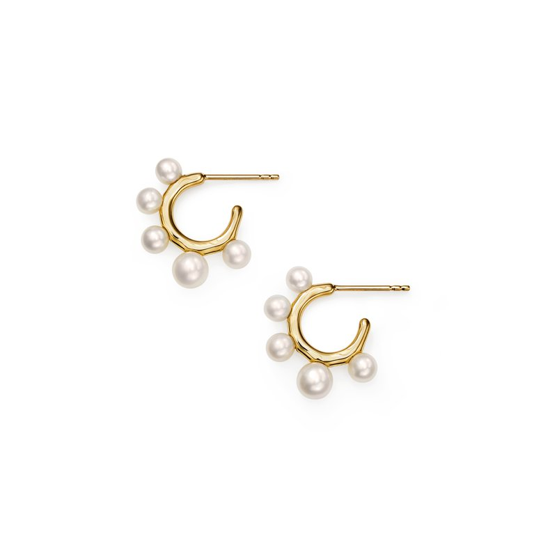 Ippolita 18k Nova Teeny Hoop Earrings