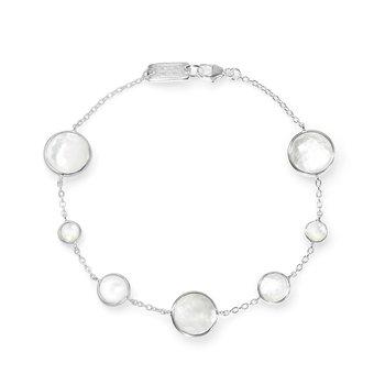 Lollipop 7 Stone Link Bracelet