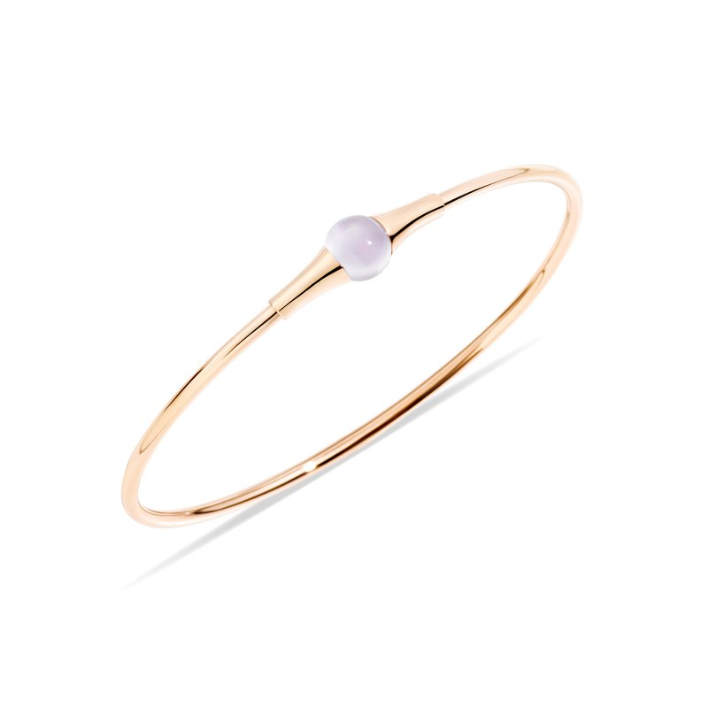 Pomellato M'ama non m'ama 18k rose gold moonstone bangle