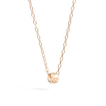 Iconica 18k rose gold necklace