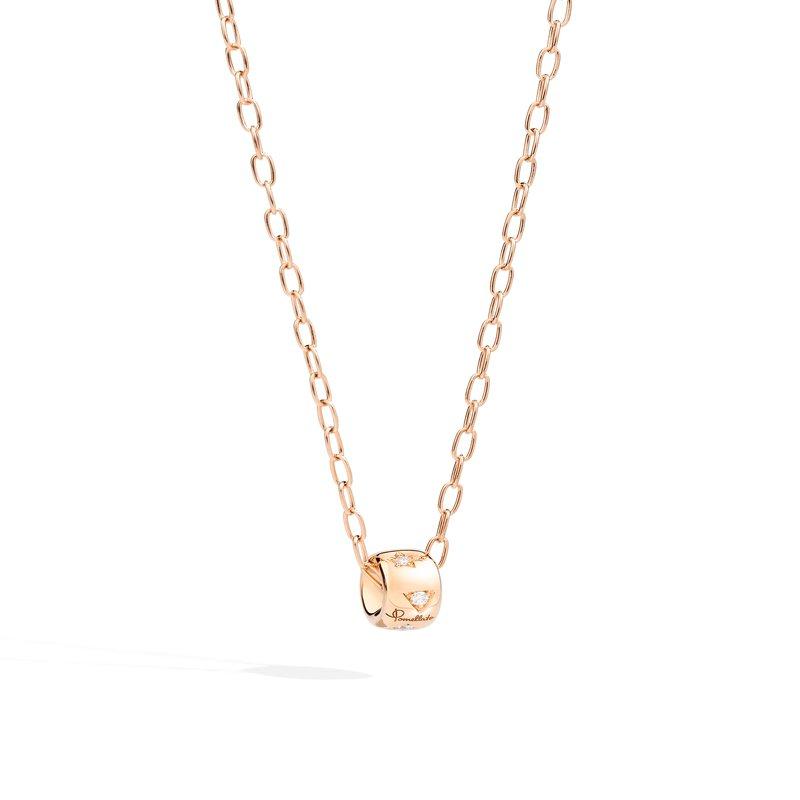 Pomellato Iconica 18k rose gold necklace