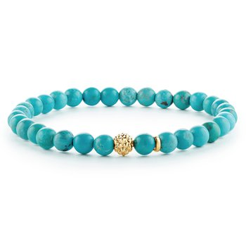 Gemstone Bead Bracelet
