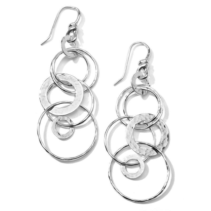 Ippolita Classico Hammered Jet Set Earrings