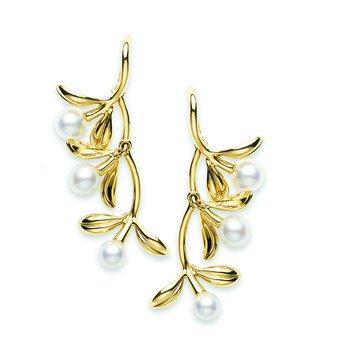 Pearl Drop Style Earrings