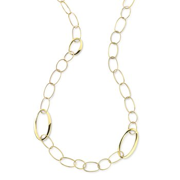 18k Classico Mixed Link Necklace