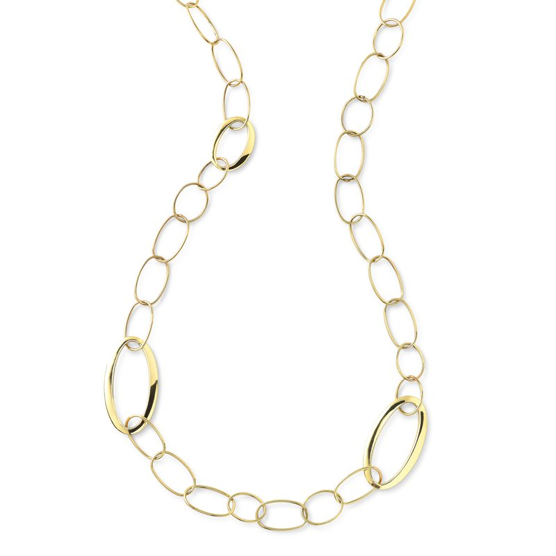 Ippolita 18k Classico Mixed Link Necklace