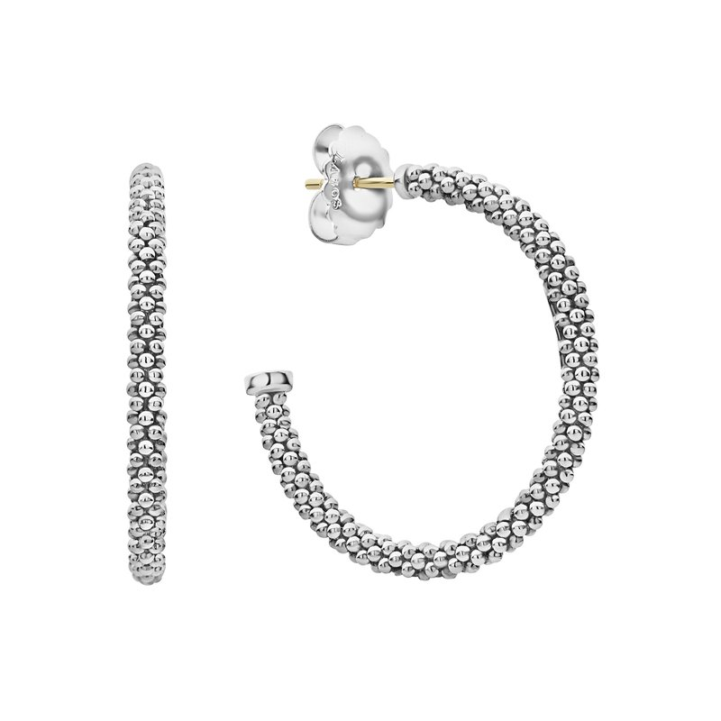 LAGOS Hoop Earrings